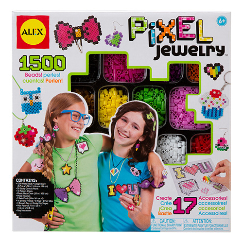 Набор для создания браслетов Пиксели 1500 пикс.