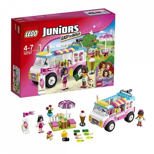 Конструктор Lego Juniors Грузовик с мороженым Эммы