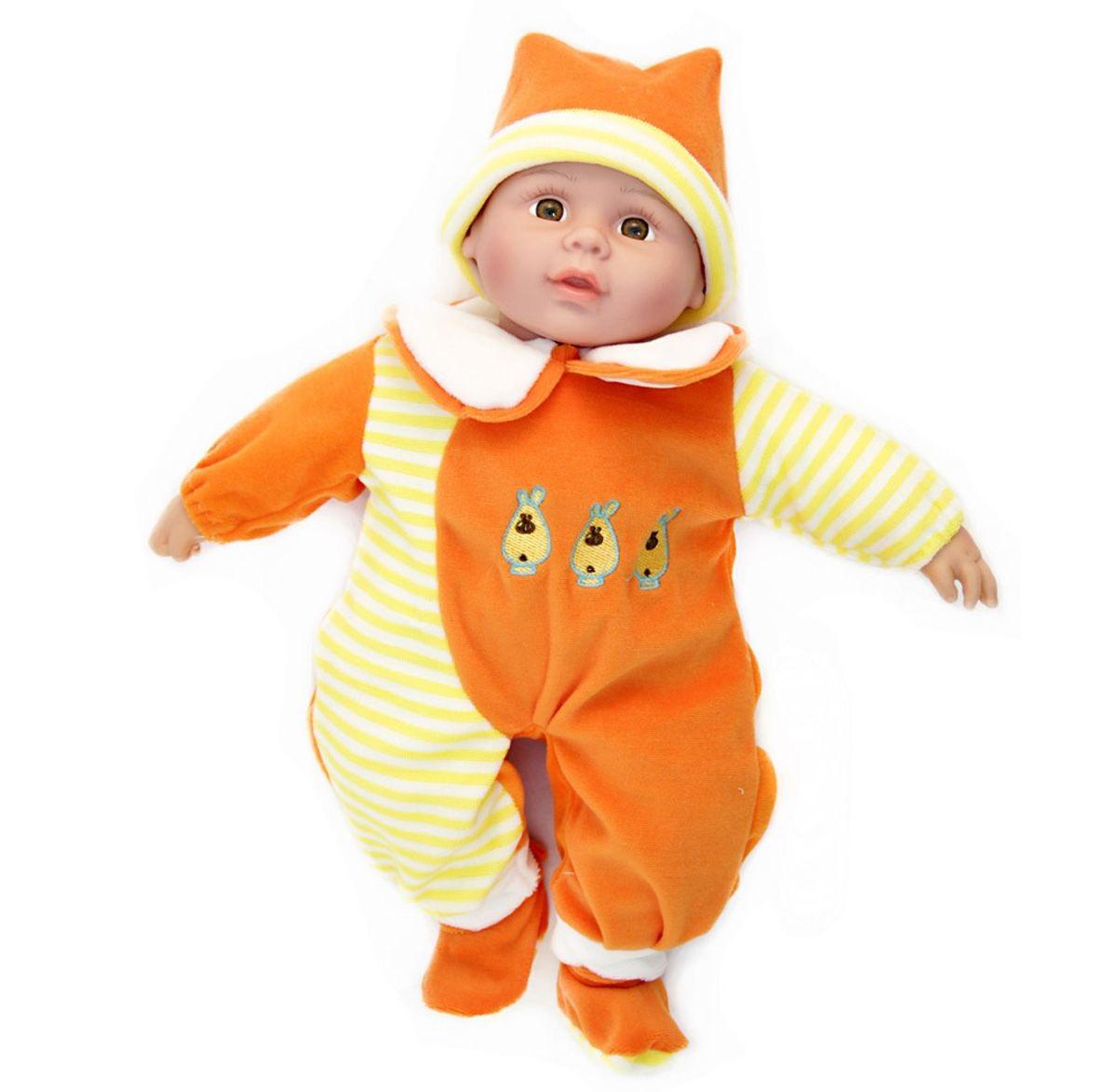 Интерактивная Кукла 40см. говорит, поет, рассказывает стихи (в оранжев.