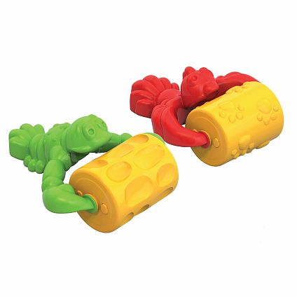 Валик для игр с песком пластмас. в ассортим.