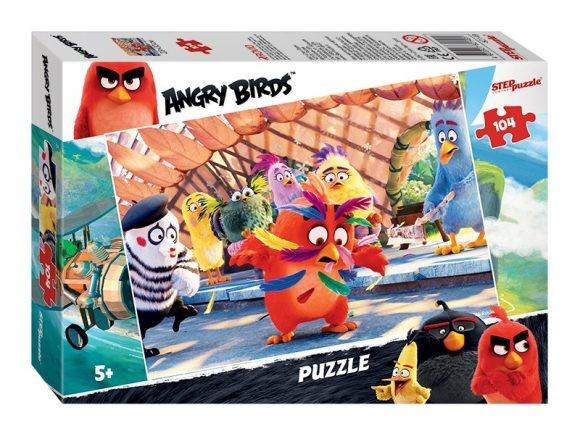 Пазл 104 Step Angry Birds