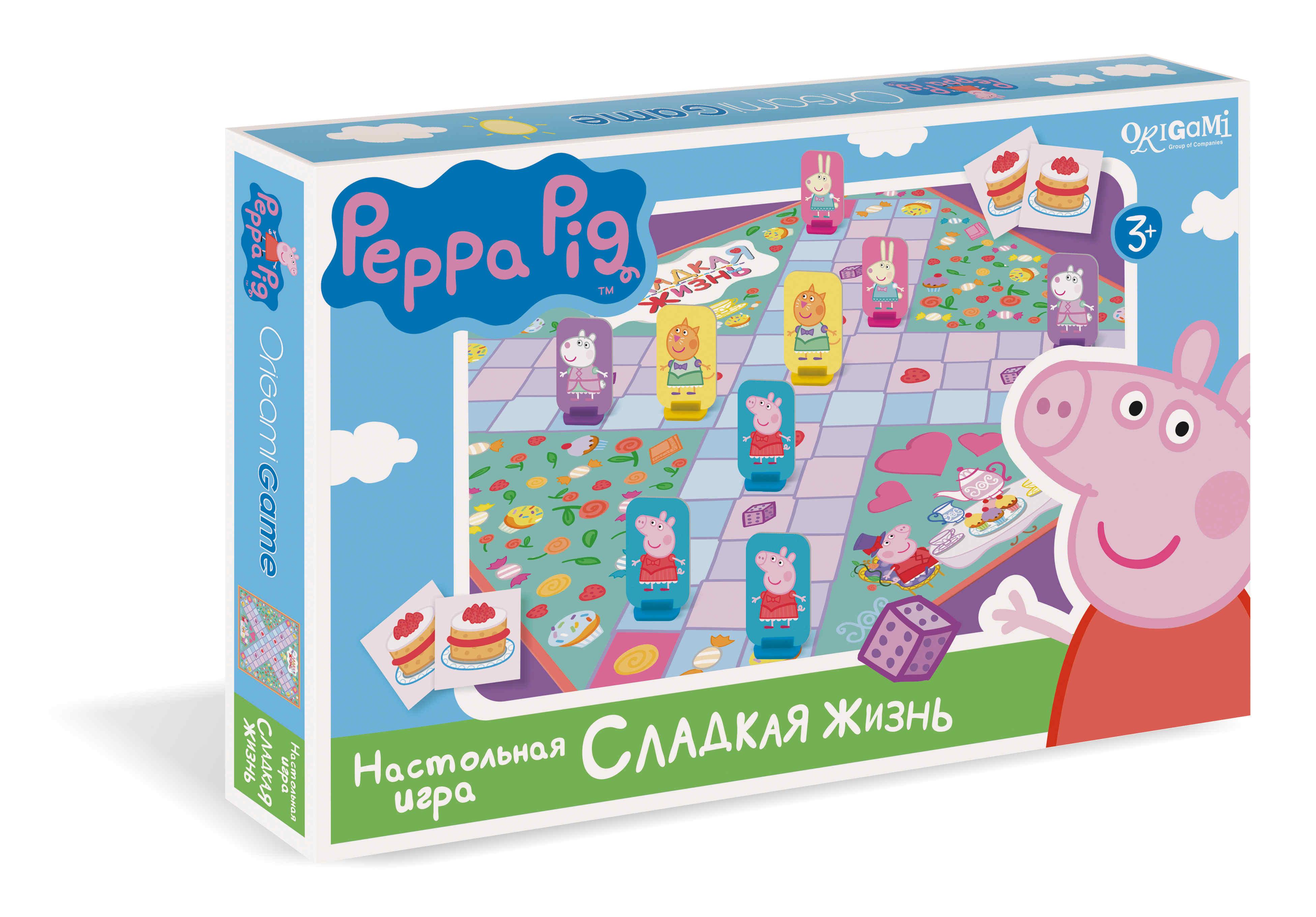 Настольная Peppa Pig Сладкая жизнь