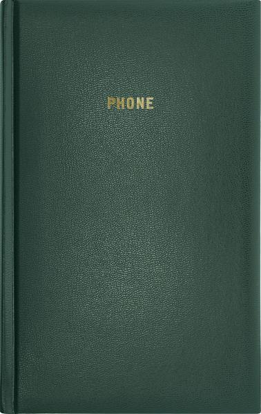 Телефонная книжка А5 ARIANE бумвинил зеленая