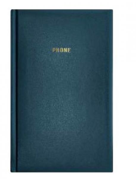 Телефонная книжка А5 ARIANE бумвинил синяя