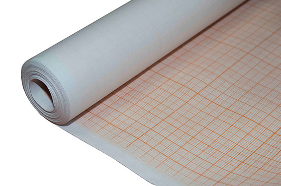 Бумага миллиметровая 878*10м в рулоне