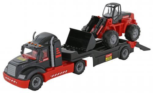 Автомобиль-трейлер Маммоет + трактор-погрузчик