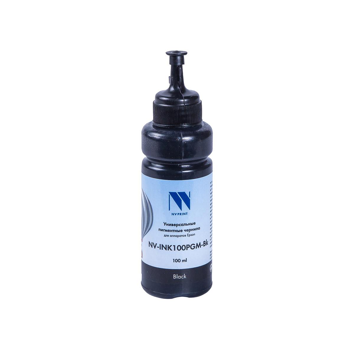 Чернила NV универсальные пигментные INK100PGM Black