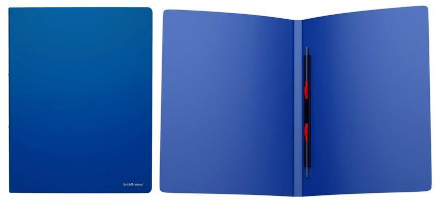 Папка-скоросшиватель EK Classic синяя на пружине