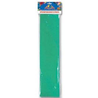 Бумага креповая 50*250см темно-зеленая