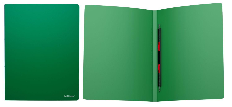 Папка-скоросшиватель EK Classic зеленая на пружине