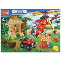 Конструктор Джунгли: Вертолет 215дет.