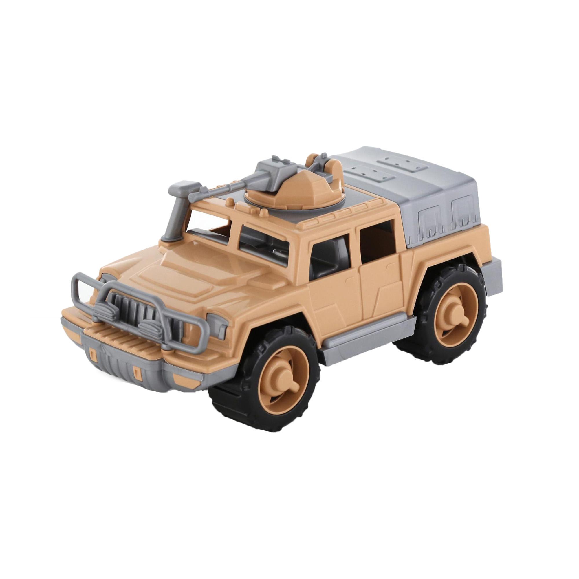 Автомобиль-Джип военный Защитник-Сафари №1 с 1-м пулемётом 30см