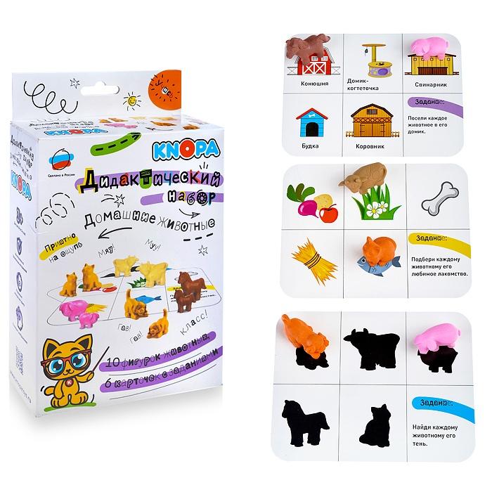 Игра Набор Дидактический Домашние животные