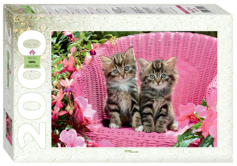Пазл 2000 Step Милые котята