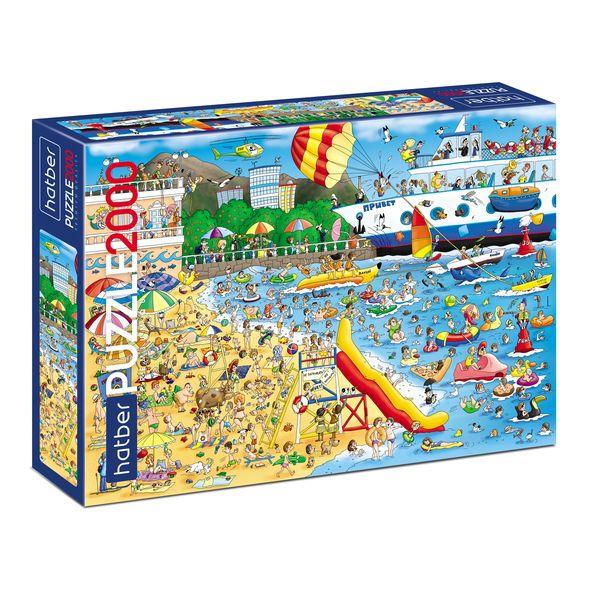 Пазл 2000 Пляж