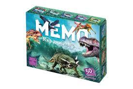 Игра Настольная Мемо Мир динозавров