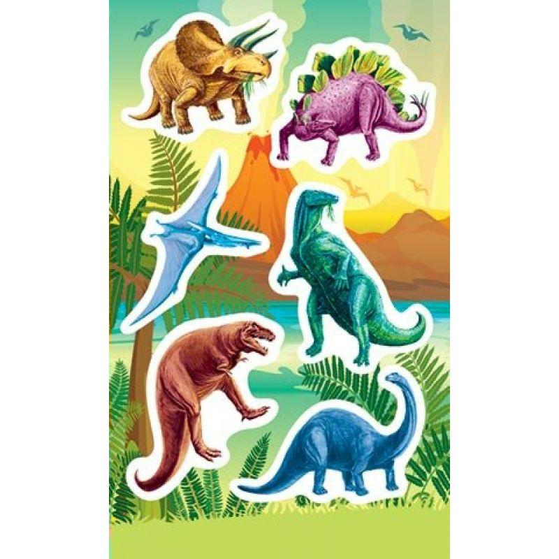Наклейки 0-11-367А Динозавры