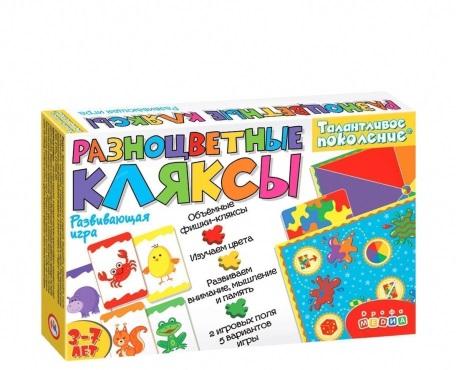 Игра Логическая Разноцветные кляксы