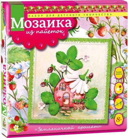 Творч Мозаика из пайеток 30*30 Земляничный аромат