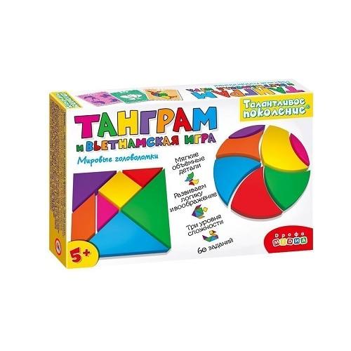 Игра Логическая Танграм и вьетнамская игра