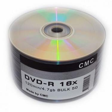 Диск DVD-R СМС 4,7Gb/16x/Bulk