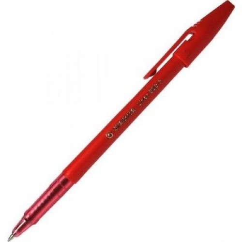 Ручка шариковая Stabilo Liner красная 0,38мм