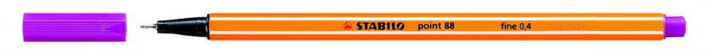 Ручка капилярная STABILO Point 0.4 фиолетовая
