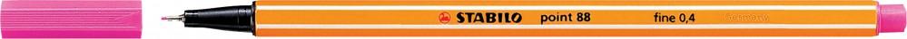 Ручка капиллярная STABILO Point 0.4 розовая