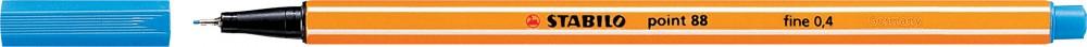 Ручка капиллярная STABILO Point 0.4 ультрамарин
