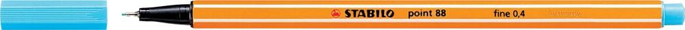 Ручка капиллярная STABILO Point 0.4 лазурь
