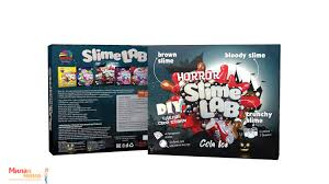 Набор для исследования Slime Lab Horror Кола Айс