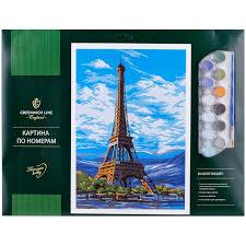 Творч Картина по номерам А3 Париж