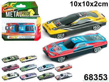 Машина Speedfire racer спорт, 7см, сталь, ассорти
