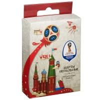 Игра Карты игральные 54шт FIFA 2018 (роликовое тиснение) Кремль