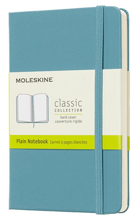 Блокнот А6 192л Moleskine Classic Pocket голубой