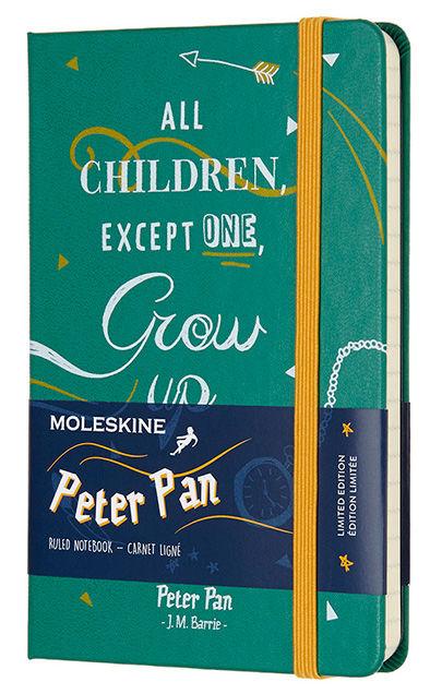 Блокнот А6 192л Moleskine Limited Edition Питер Пен зеленый