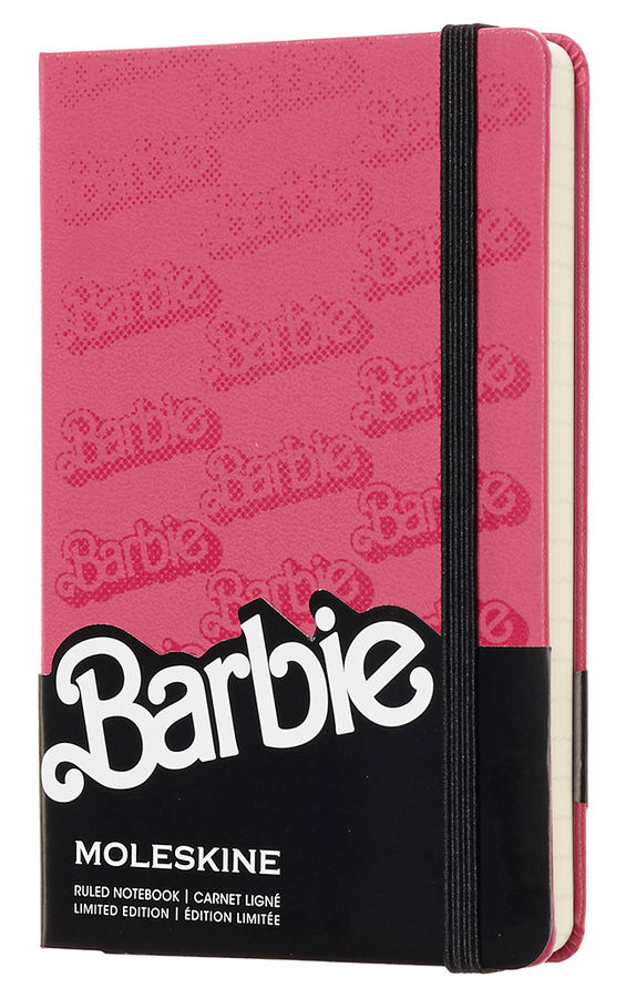 Блокнот А6 192л Moleskine Limited Edition Barbie розовый
