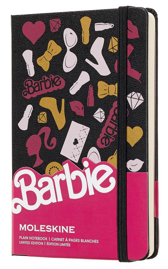Блокнот А6 192л Moleskine Limited Edition Barbie туфли бантики