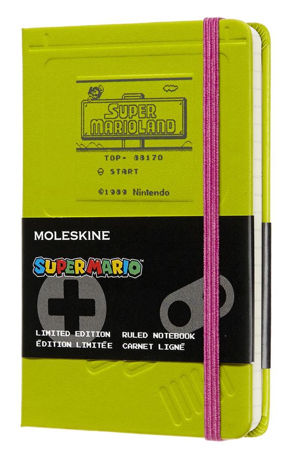 Блокнот А6 192л Moleskine Limited Edition Super Mario зеленый