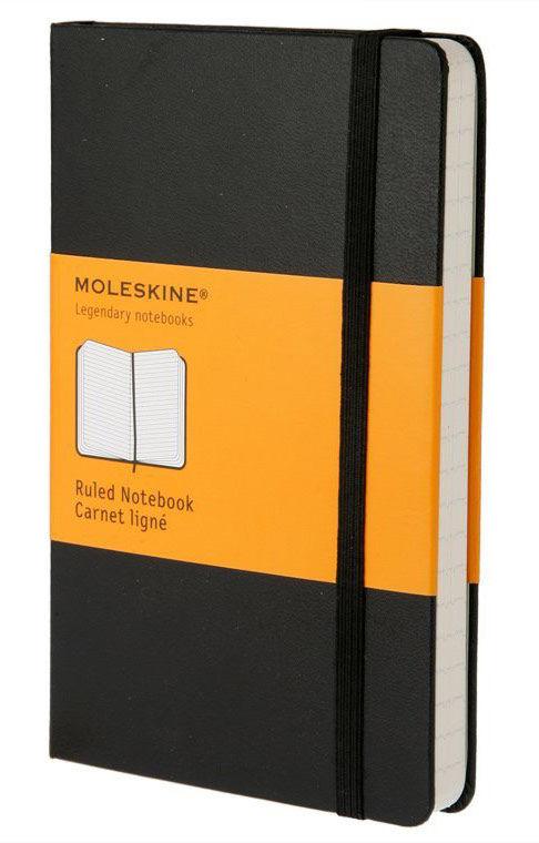 Блокнот А5 240л Moleskine Classic Large черный