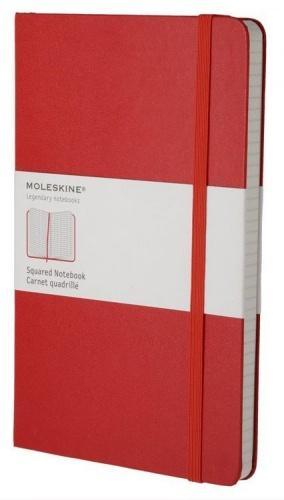 Блокнот А5 240л Moleskine Classic Large красный