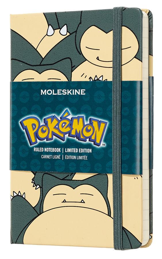 Блокнот А6 192л Moleskine Limited Edition Покемон серый