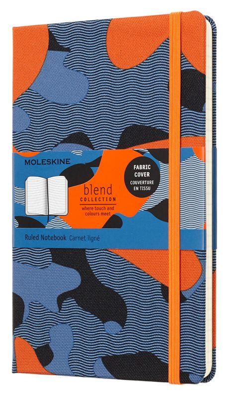 Блокнот А5 240л Moleskine Limited Edition Blend оранж-синий
