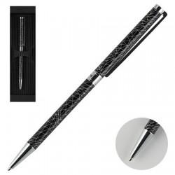 Ручка подар шар Manzoni Rieti корп:черный футляр карт
