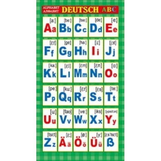 Шпаргалка-карточка DEUTSCH Alphabet А6