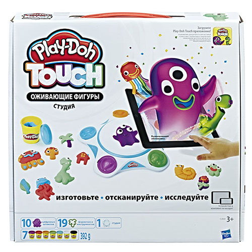 Творч Play-Doh Touch Оживающие фигуры Студия МАХ СКИДКА 15% РОЗНИЦА