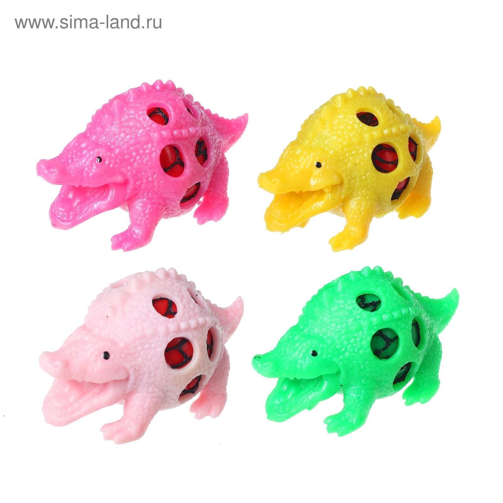 Мялка Динозавр микс