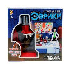 набор биолога Микроскоп + 7 предм. №3