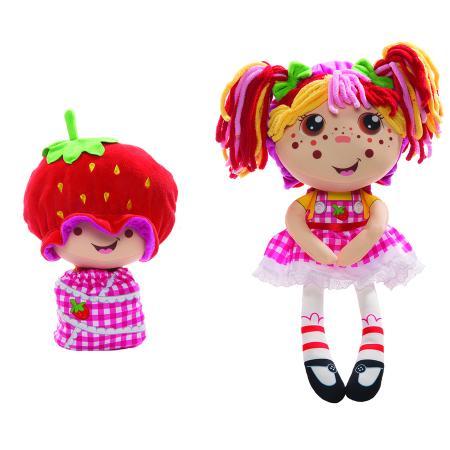 Мягконабивная Кукла Девчушка-вывернушка Ксюшка 2-в-1 23-38 см