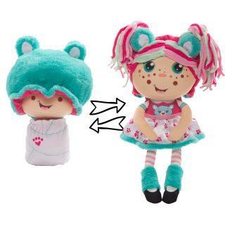 Мягконабивная Кукла Девчушка-вывернушка Надюшка 2-в-1 23-38 см